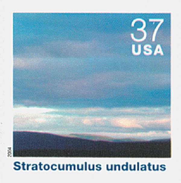 2004 37c Cloudscapes: Stratocumulus Undulatus