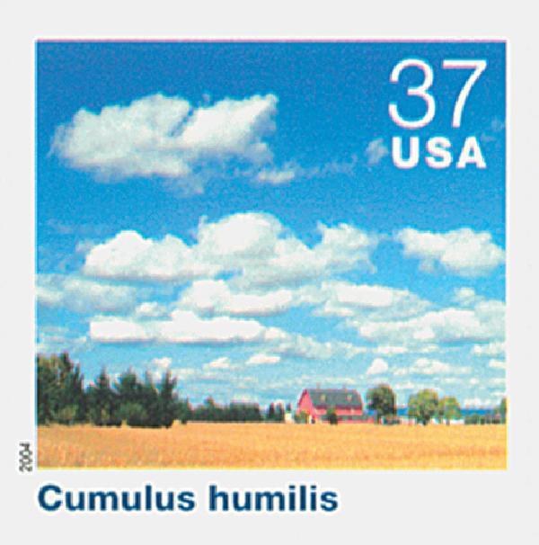 2004 37c Cloudscapes: Cumulus Humilis