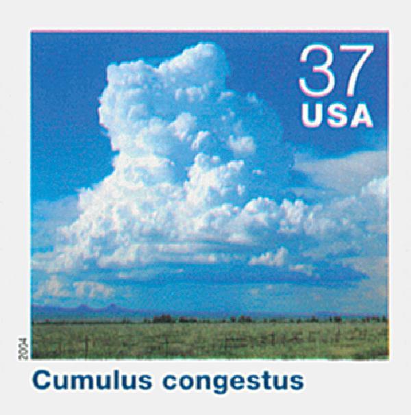 2004 37c Cloudscapes: Cumulus Congestus