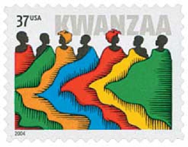 2004 37c Kwanzaa