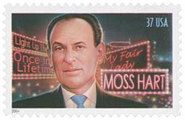2004 37c Moss Hart