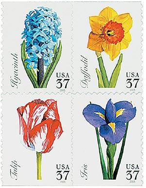 2005 37c Spring Flowers