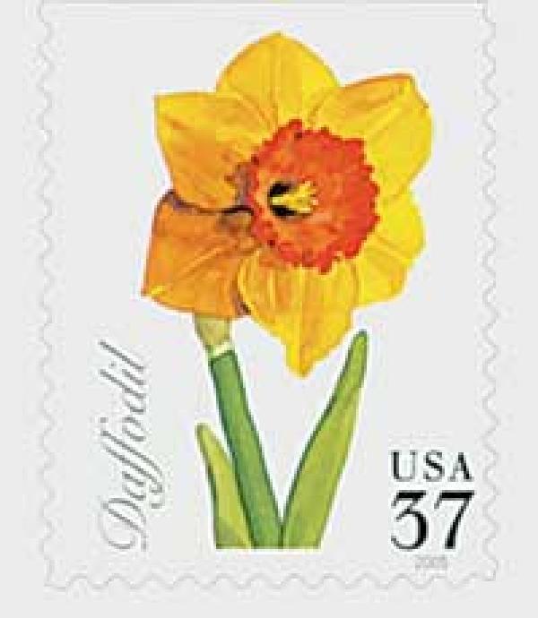 2005 37c Spring Flowers: Daffodil