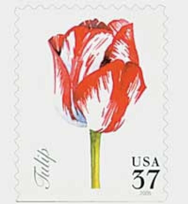 2005 37c Spring Flowers: Tulip