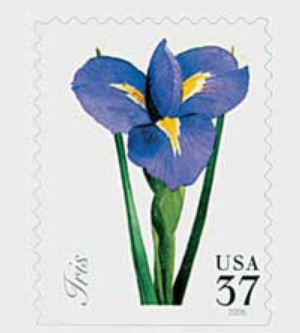 2005 37c Spring Flowers: Iris
