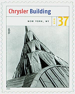 2005 37c Modern American Architecture: Chrysler Building