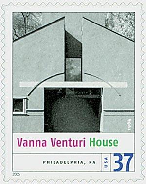 2005 37c Modern American Architecture: Vanna Venturi House