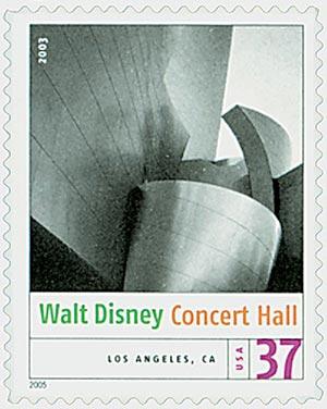 2005 37c Modern American Architecture: Walt Disney Concert Hall