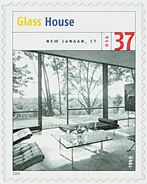 2005 37c Modern American Architecture: Glass House