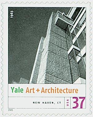 2005 37c Modern American Architecture: Yale Art and Architecture Bldg.