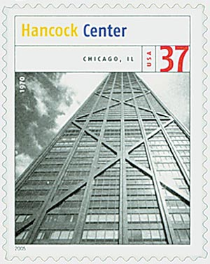 2005 37c Modern American Architecture: Hancock Center