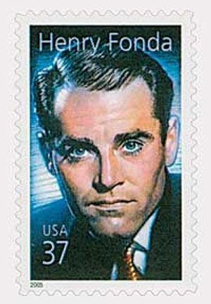 2005 37c Legends of Hollywood: Henry Fonda