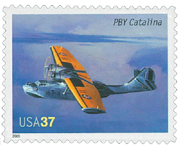 2005 37c Advances in Aviation: Consolidated PBY Catalina