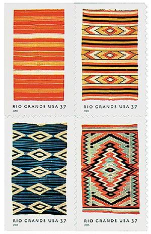 2005 37c Rio Grande Blankets