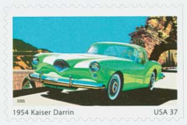 2005 37c Sporty Cars: 1954 Kaiser Darren