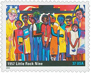 2005 37c To Form a More Perfect Union: Little Rock Nine