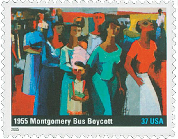2005 37c To Form a More Perfect Union: Montgomery Bus Boycott