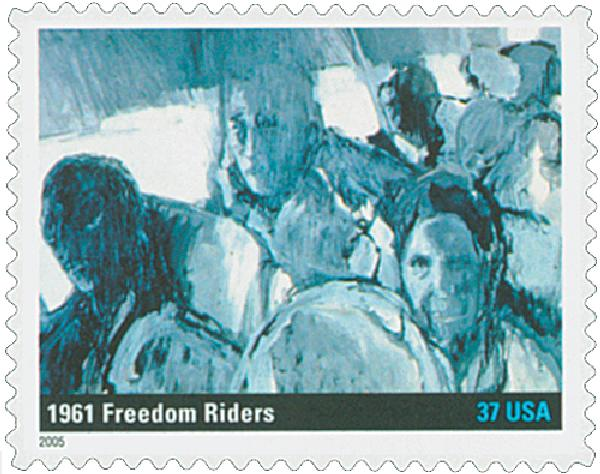 2005 37c To Form a More Perfect Union: Freedom Riders