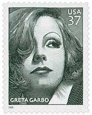 2005 37c Greta Garbo
