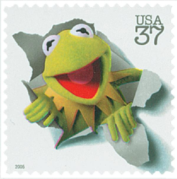 2005 37c Jim Henson: Kermit the Frog