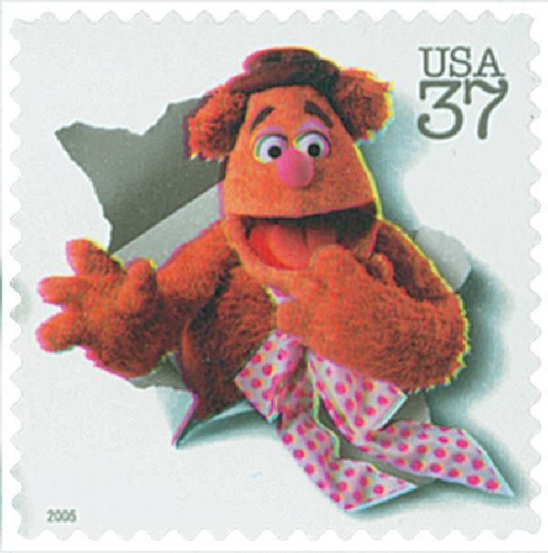 2005 37c Jim Henson: Fozzie Bear
