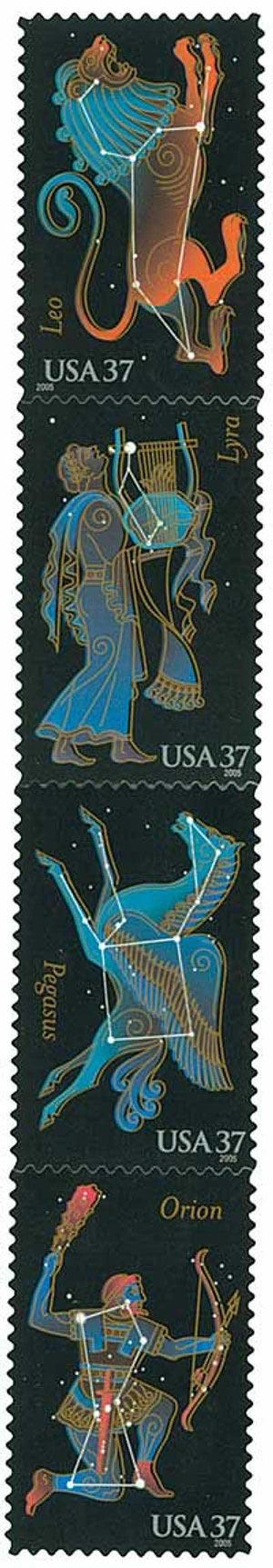 2005 37c Constellations