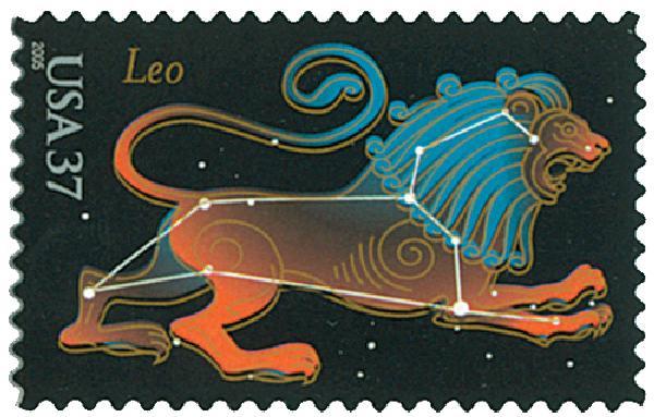 2005 37c Constellations: Leo