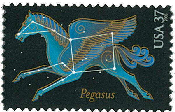 2005 37c Constellations: Pegasus