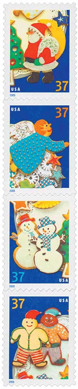 2005 37c Contemporary Christmas: Holiday Cookies