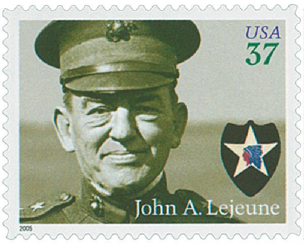2005 37c Distinguished Marines: John A. Lejeune