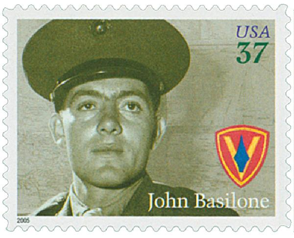 US #3963 – from the Distinguished Marines Issue