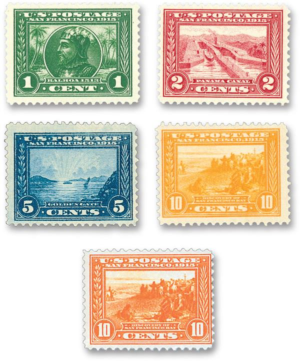1913 Panama-Pacific Series, perf 12