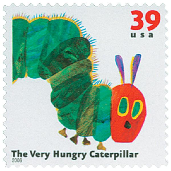 2006 39c Childrens Book Animals: The Very Hungry Caterpillar