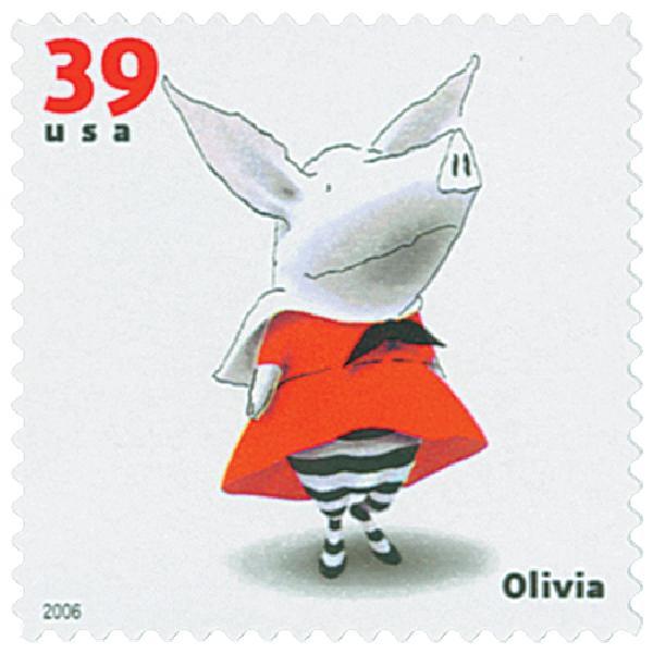 2006 39c Childrens Book Animals: Olivia