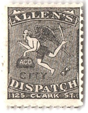 1882 black, Allens Dispatch