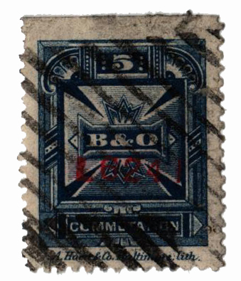 1885 5c blue