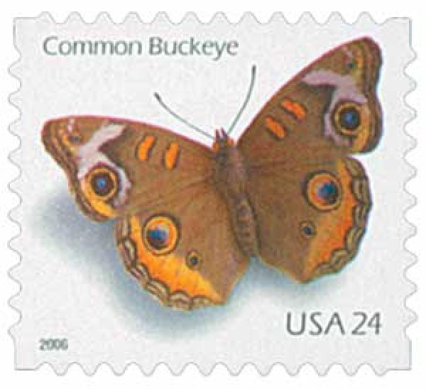2006 24c Common Buckeye, self-adhesive