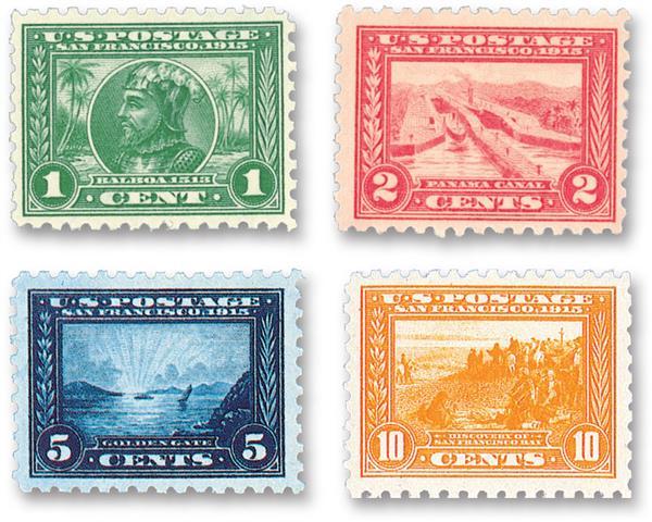 1914-15 Panama-Pacific Series, perf 10