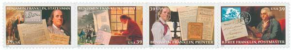 2006 39c Benjamin Franklin