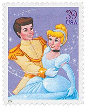 2006 39c Cinderella and Prince Charming