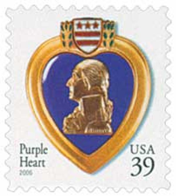 2006 39c Purple Heart