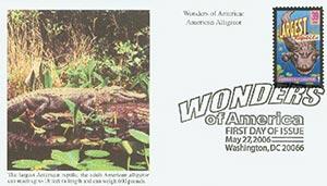 2006 39c Am. Alligator, Largest Reptile