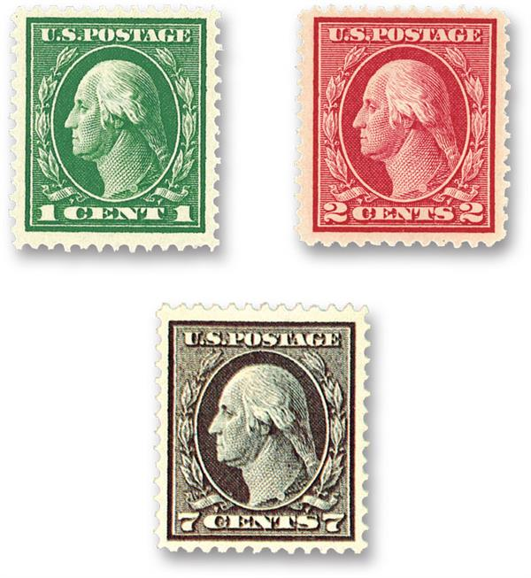 Complete Set, 1913-15 Panama-pacific Series perf 10
