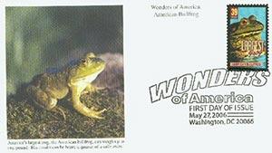 2006 39c Amer. Bullfrog, Largest Frog