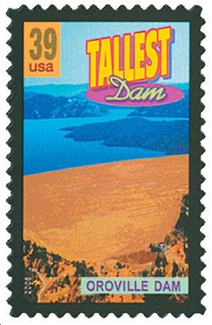 2006 39c Oroville Dam, Tallest Dam