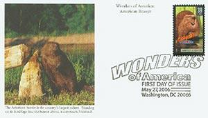 2006 39c Amer.Beaver, Lrg. Rodent