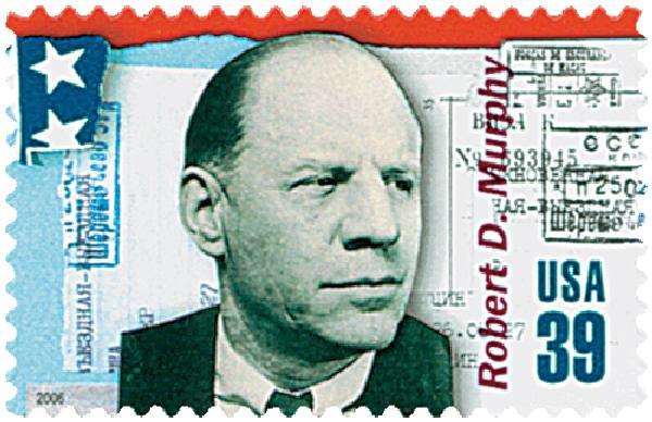 2006 39c American Diplomats: Robert D. Murphy