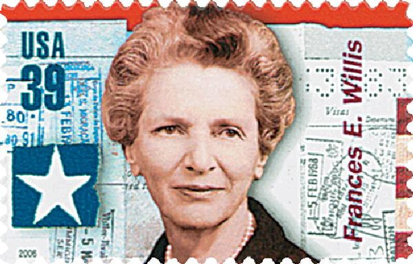 2006 39c American Diplomats: Frances Willis