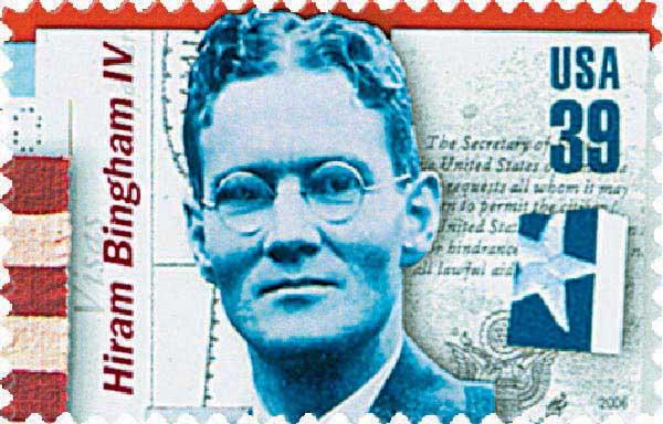 2006 39c American Diplomats: Hiram Bingham