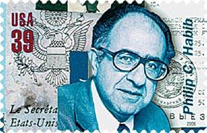 2006 39c American Diplomats: Philip C. Habib